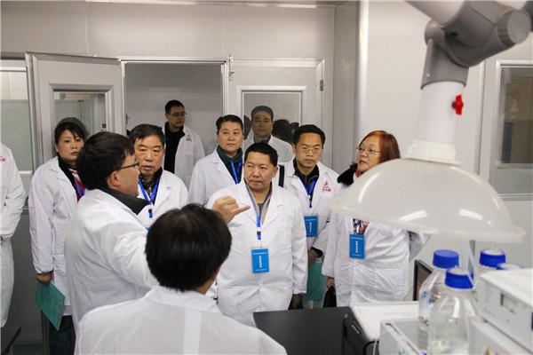 成都康美生产公司迎接中药材质量追溯体系项目建设验收