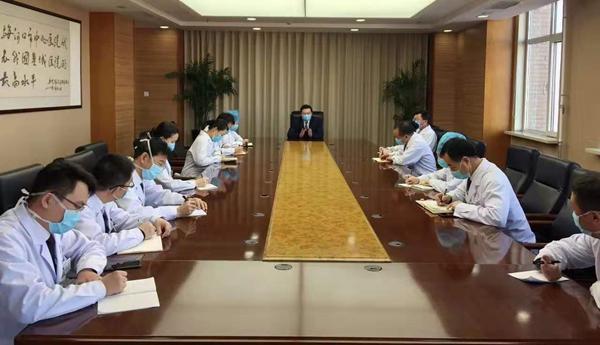 责任重大 使命光荣 康美梅河口中心医院全力以赴对抗疫情