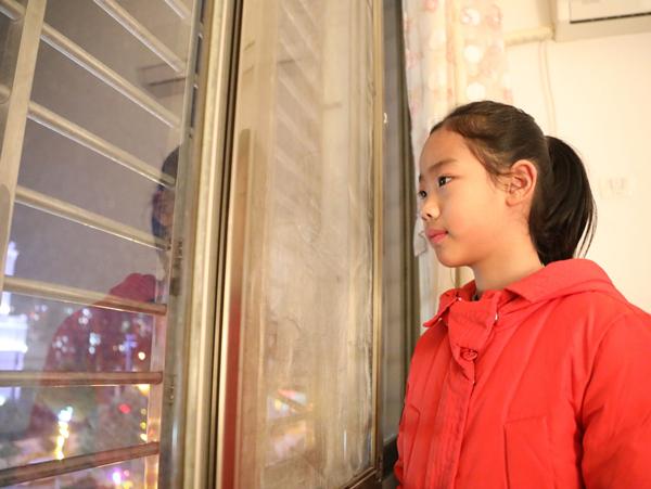 通城:9岁女孩给爸爸的一封信