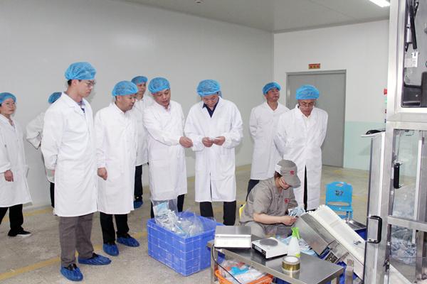 康美药业总经理刘国伟赴四川、安徽深入视察企业生产安全工作